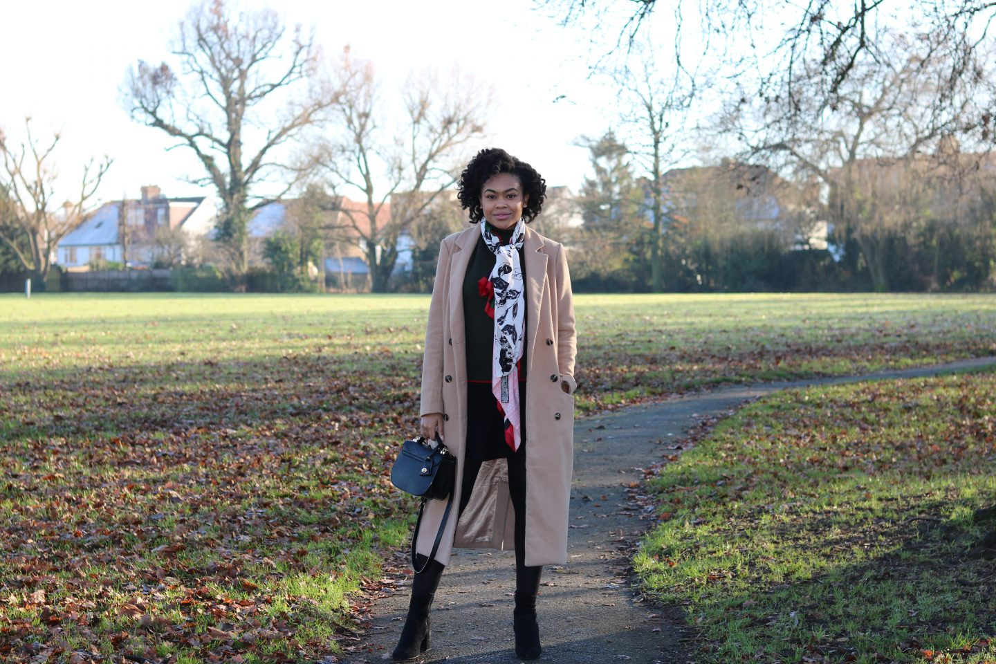 camel coat duster trench