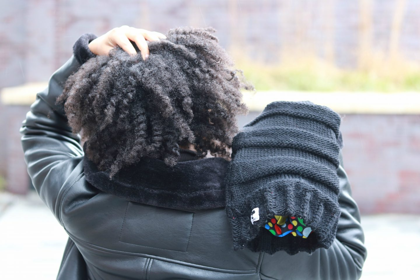 twist out winter hair care